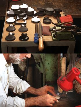 Fabricación de Castañuelas